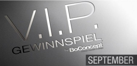 BoConcept NRW: BoConcept VIP Gewinnspiel: September