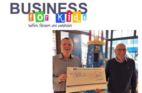 Business for kids und BoConcept Hannover