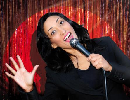 Shazia Mirza - hyllad och hotad komiker som roar och oroar