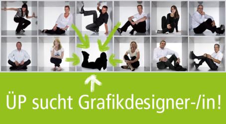 ÜP sucht Grafikdesigner/-in