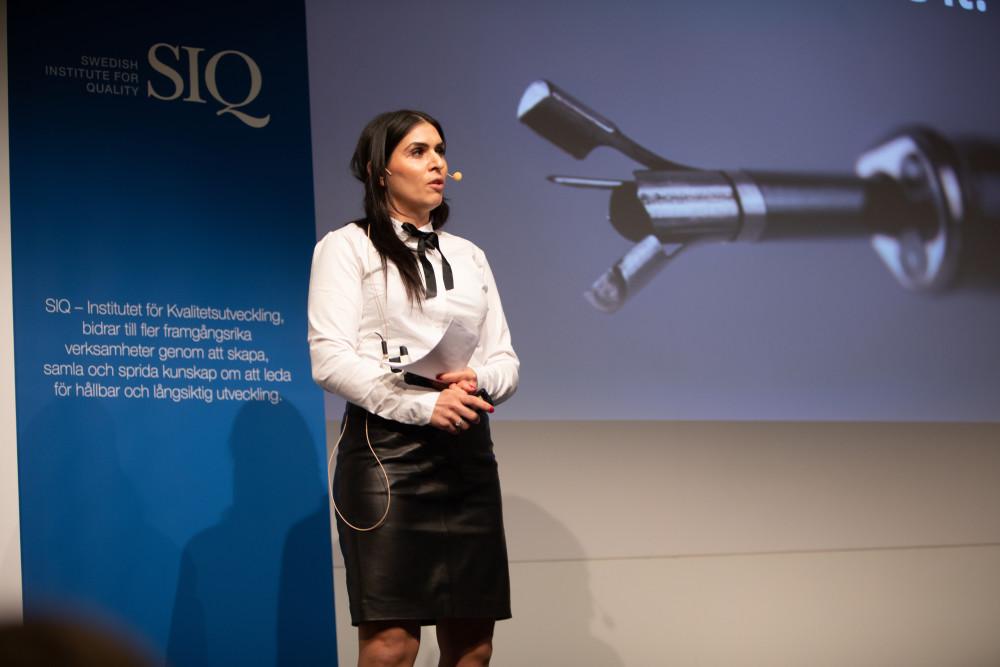 Hållbarhet och framtidstro genomsyrade årets Quality Innovation Award-gala 2