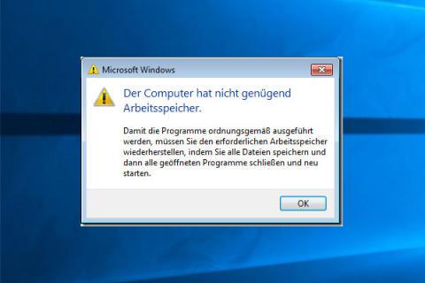 Vollstandige Losungen Fur Wenigen Speicher Unter Windows 10 8 7 Minitool Software Ltd