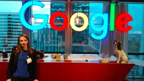 Diana Saplacan, universitetsadjunkt i datalogi, i Amsterdam.