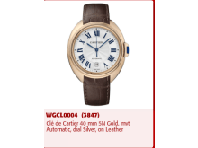 A Cle de Cartier watch stolen