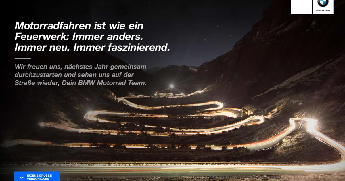 SYZYGY Kreiert Auergewhnliche Weihnachtsgre Fr BMW