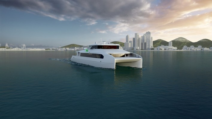 ABB has secured a contract with Haemin Heavy Industries shipyard to provide a complete power and propulsion solution for Busan Port Authority's first all-electric passenger ferry