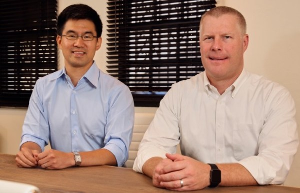 Ryan Randall, Point's Head of Capital Markets , with Point's CEO and co-founder, Eddie Lim