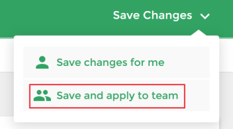 Saving Options - Team Plan