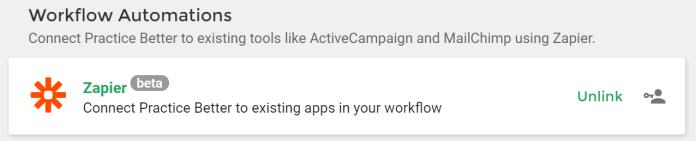 Workflow Automations - Zapier Screenshot
