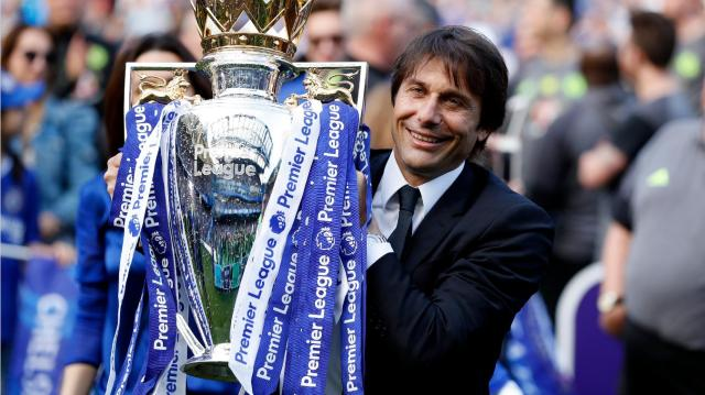 Conte earns Barclays Manager of the Season award