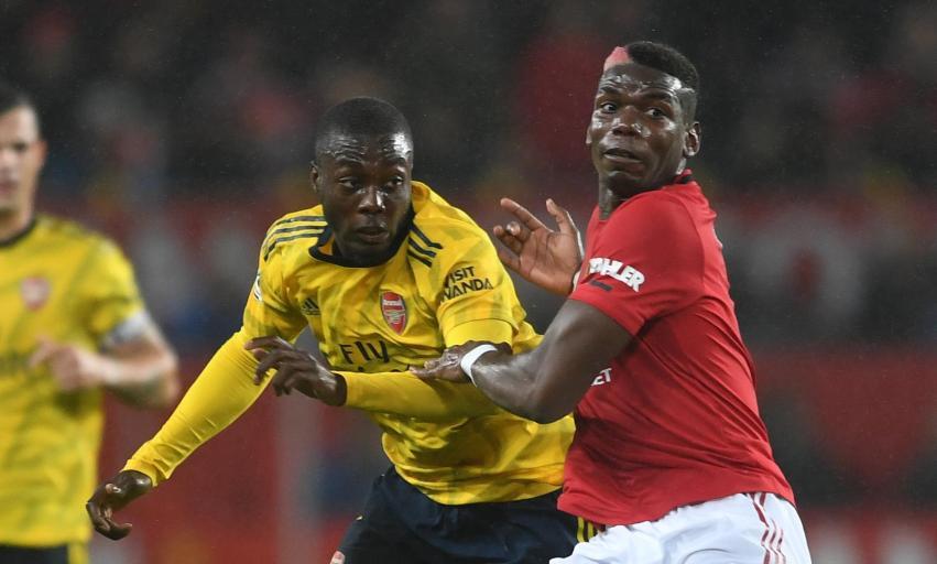 Arsenal v Man Utd: Pogba in contention