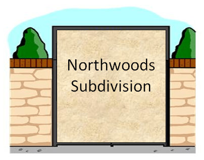 Northwoods Subdivision