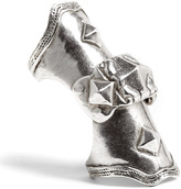 low luv erin wasson-low luv by erin wasson silver armour knuckle ring