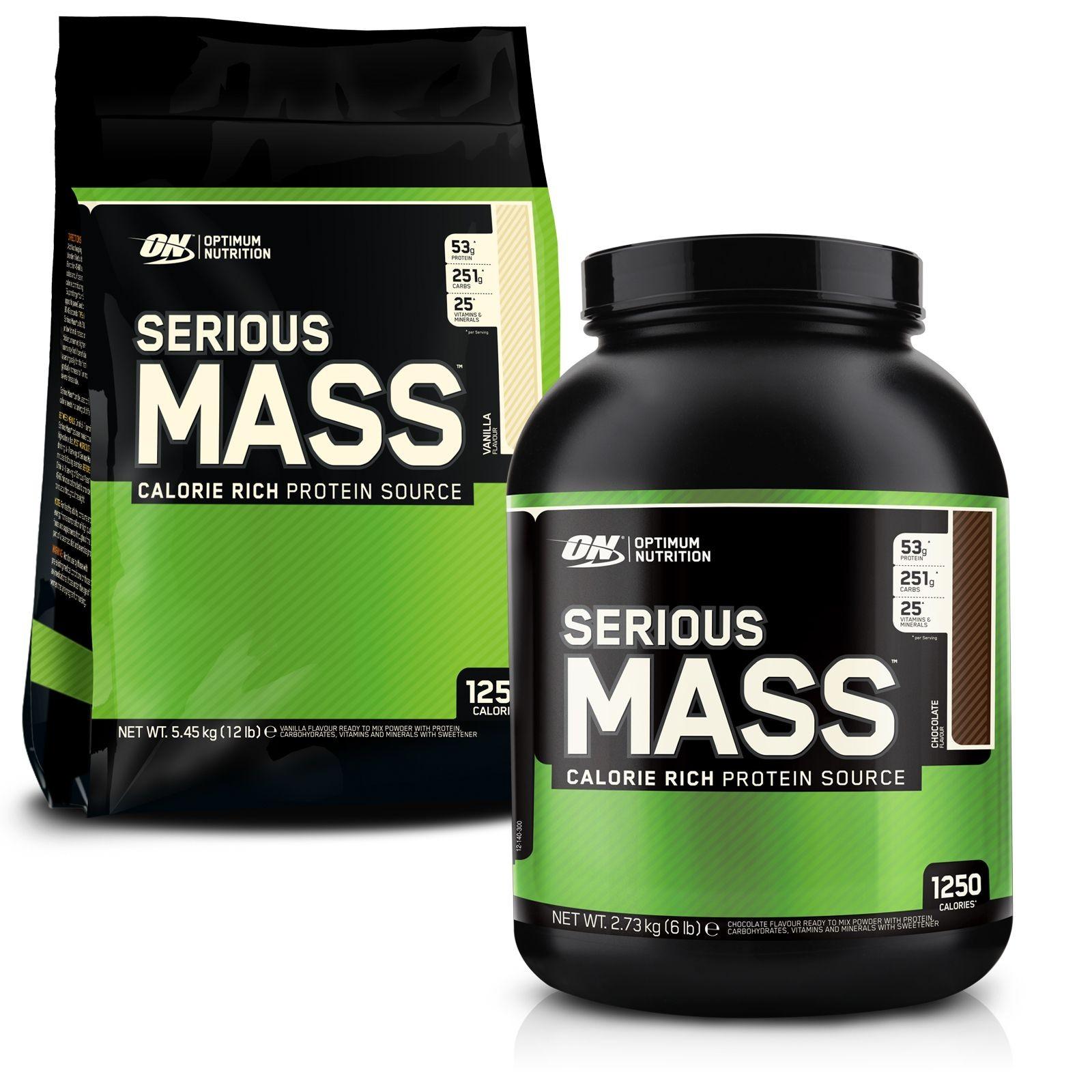 Optimum Nutrition Mass Gainer Serious