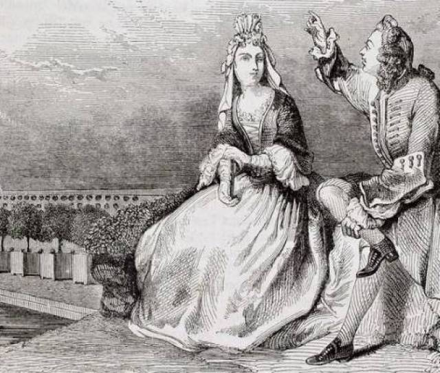 Courtship How It Used To Be Done