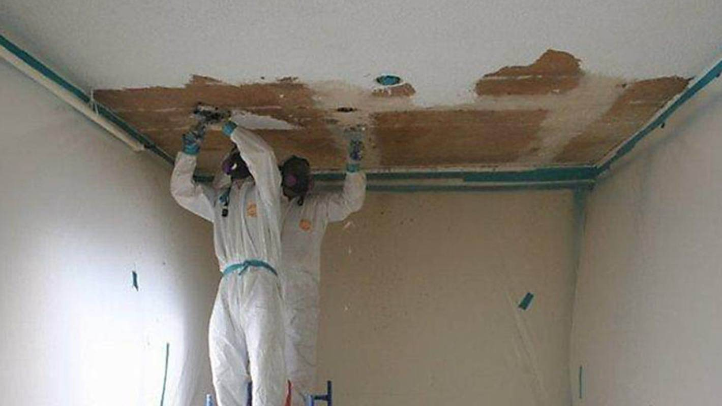 removing that old asbestos is about to