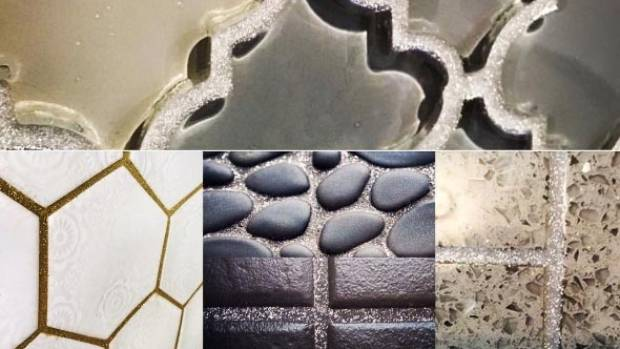 Trend Alert Glitter Grout Is The Latest Way To Make Your Kitchen Sparkle Nz