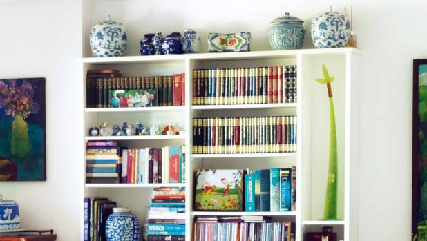 An organised bookshelf is a game changer in a home.