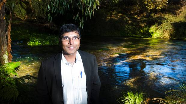 Putaruru GP Doctor David Srinivasagam has worked in the South Waikato for 17 years and loves its close-knit community.