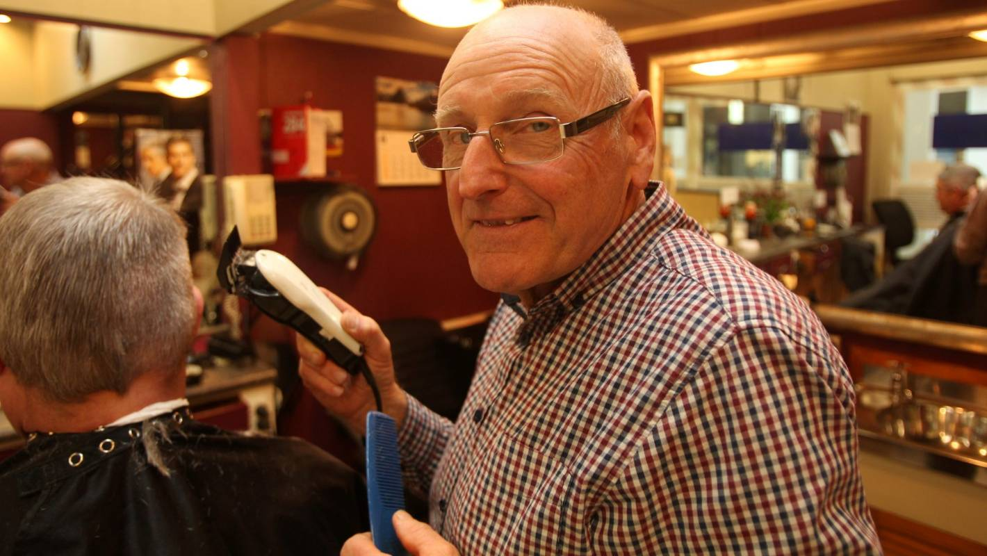 Barber Retires After 49 Years Cutting Hair In Auckland