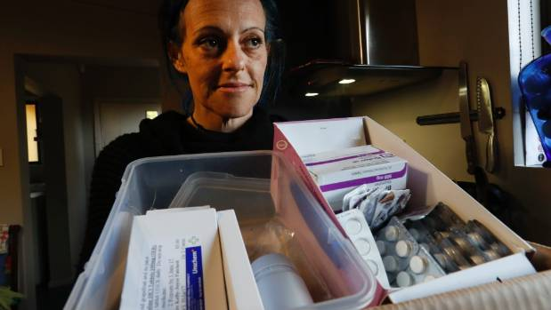 Kelly Patchett has replaced all her prescription medication by using cannabis products she makes in her Nelson home.