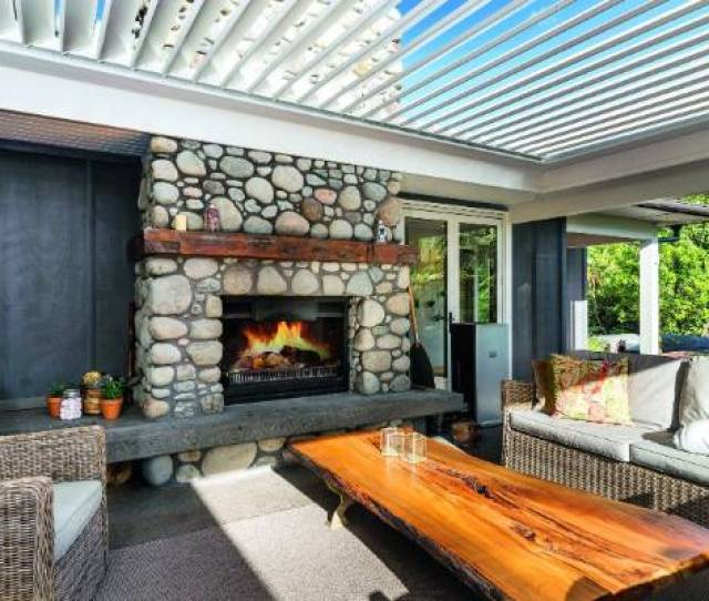 Outdoor Living Areas Have Come Of Age This Year This Rotorua House Is By Urbo