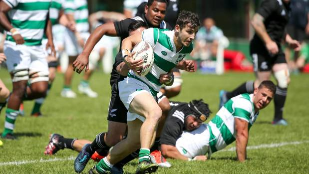 NZ Marist halfback Zac Donaldson had an excellent game against the NZ Heartland XV.