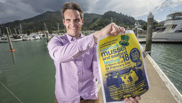 Havelock Mussel and Seafood Festival co-ordinator Hans Neilson is working on some new twists on an old favourite.