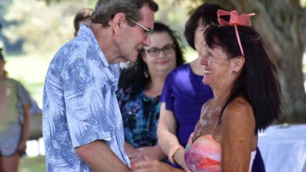 Michael Joyce has Alzheimer's and asked his wife of 34 years to marry him. His wife, Linda, decided it would be a good ...