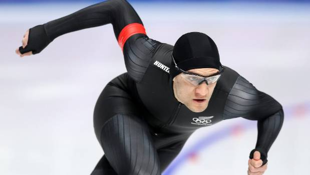 Kiwi speed skater Reyon Kay made his winter Olympics debut on Tuesday night (NZT) and was placed 26th.