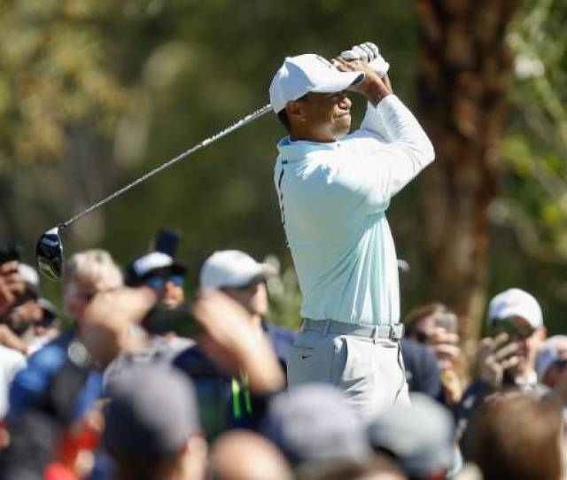 Tiger Woods Was Back On Top Of A Leaderboard During The Second Round Of The Valspar