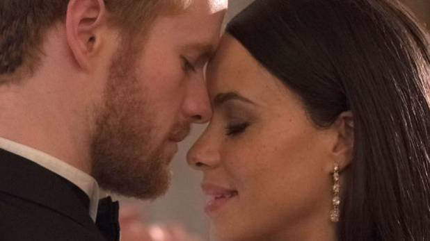 Do they look like the real deal? It's the first look at the actors who will play Prince Harry (Murray Fraser) and Meghan ...