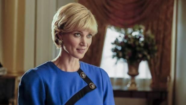 Harry's mum, Princess Diana, is played by Kiwi Bonnie Soper.