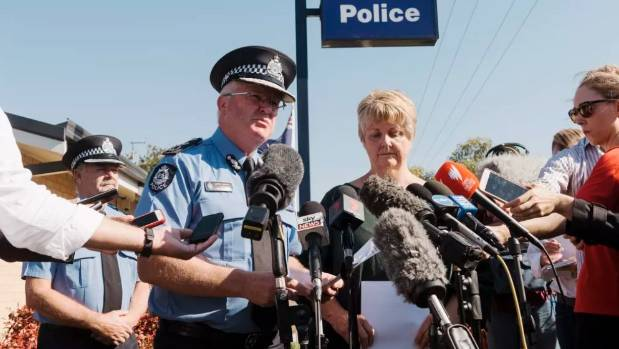 WA Police Commissioner Chris Dawson confirmed the guns belonged to grandfather Peter Miles.