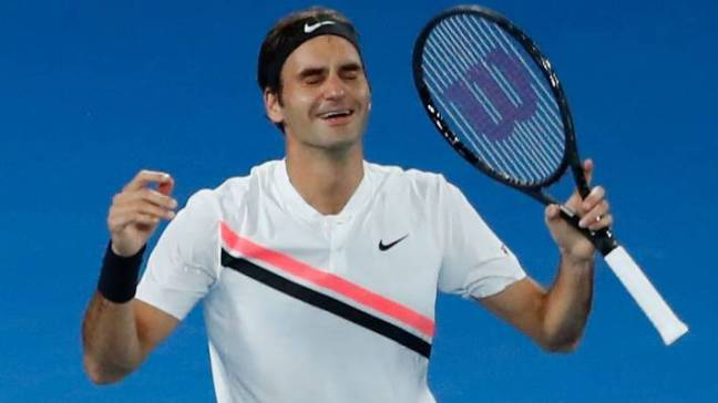Image result for federer celebrates