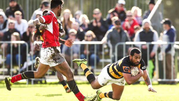 Taranaki centre Latu Vaeno scored a brace of tries against Poverty Bay in his side's impressive 78-0 victory.