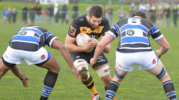 Captain Mitchell Crosswell and his Taranaki side were made to dig in big time against Wanganui in their Ranfurly Shield clash in Hawera.