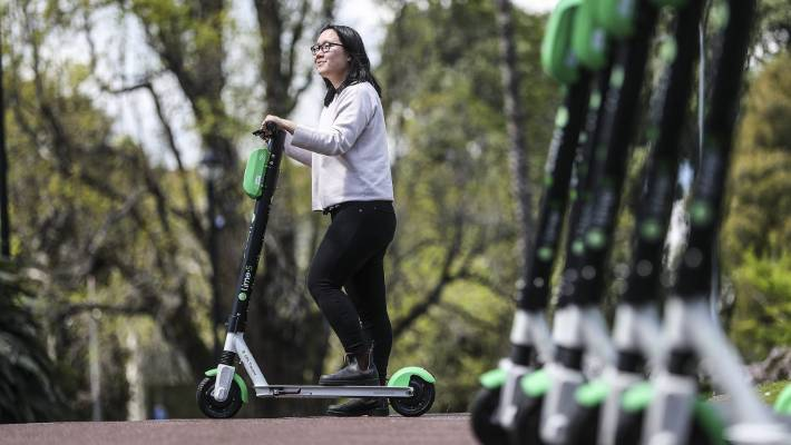 Lime Scooters Launched In New Zealand On Monday With  Soon To Be In Christchurch