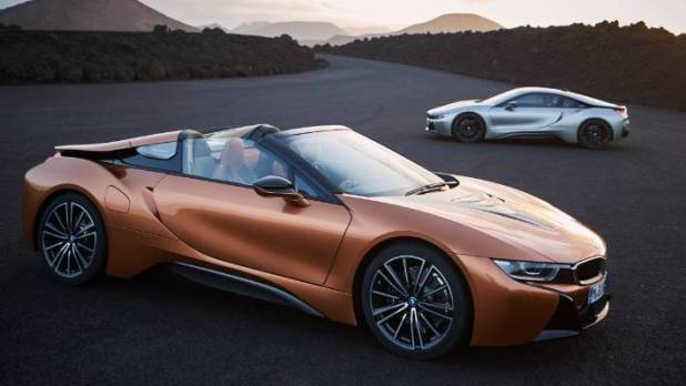 The Roadster is part of a renovated i8 series - but we think the cup is even better.