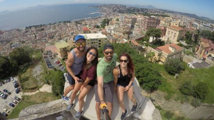 Byron says, getting paid to travel the world with like-minded people is pretty hard to beat.