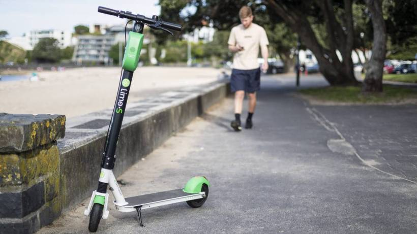 Meet A Student Who Earns 100 Per Day By Charging Lime E Scooters Stuff Co Nz