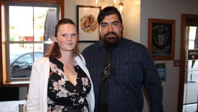 Sergio de la Fuente and his wife Marlaena.