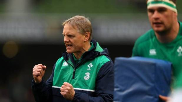 Ireland coach Joe Schmidt, players wanted to go extra distance in training.