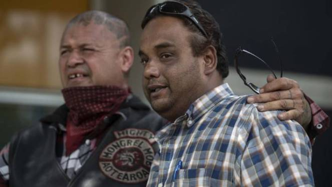Members of Mongrel Mob Aotearoa in Christchurch visited victims of the terrorist attack on Saturday (file photo.)