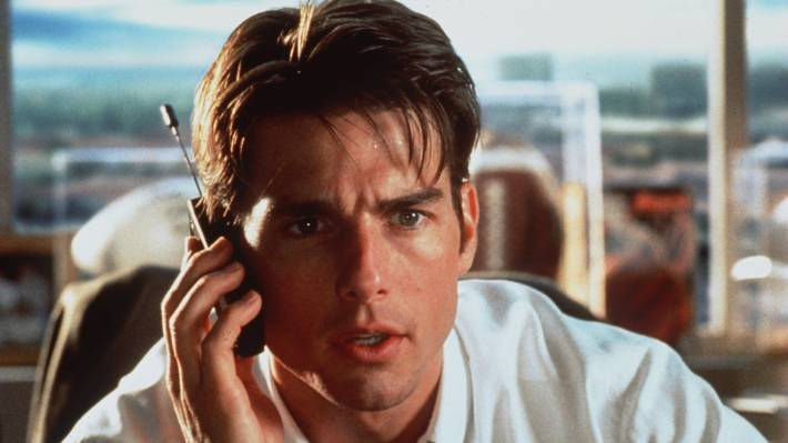 Tom Cruise is a best charismatic in Jerry Maguire.