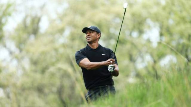 Tiger Woods is likely to miss the cut at the PGA Championship in New York.