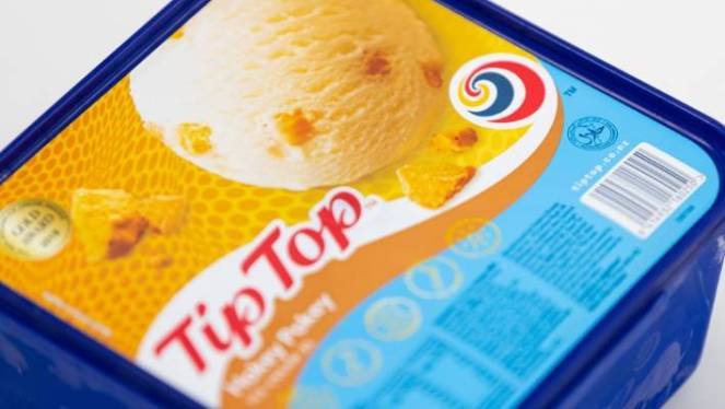 Tip Top products are made in New Zealand for all New Zealanders, Stephanie Stuart, head of marketing and innovation say.