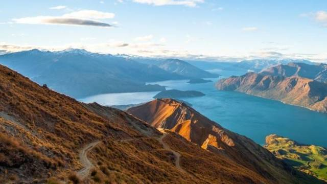 Instagram-worthy Roy's Peak, in Wanaka, where tourists arrive without courtesy of a second jet capable airport.