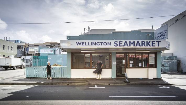 Wellington Seamarket remained open to the public throughout lockdown - but no fish and chips.