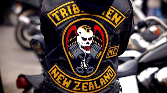 Browne is the president of the Tribesmen motorcycle gang. (File photo)